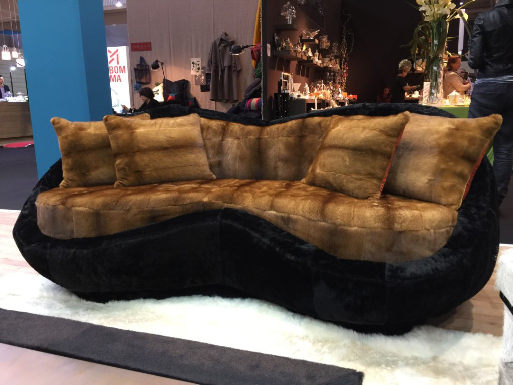 Sofa Sweet - golden mink - vison