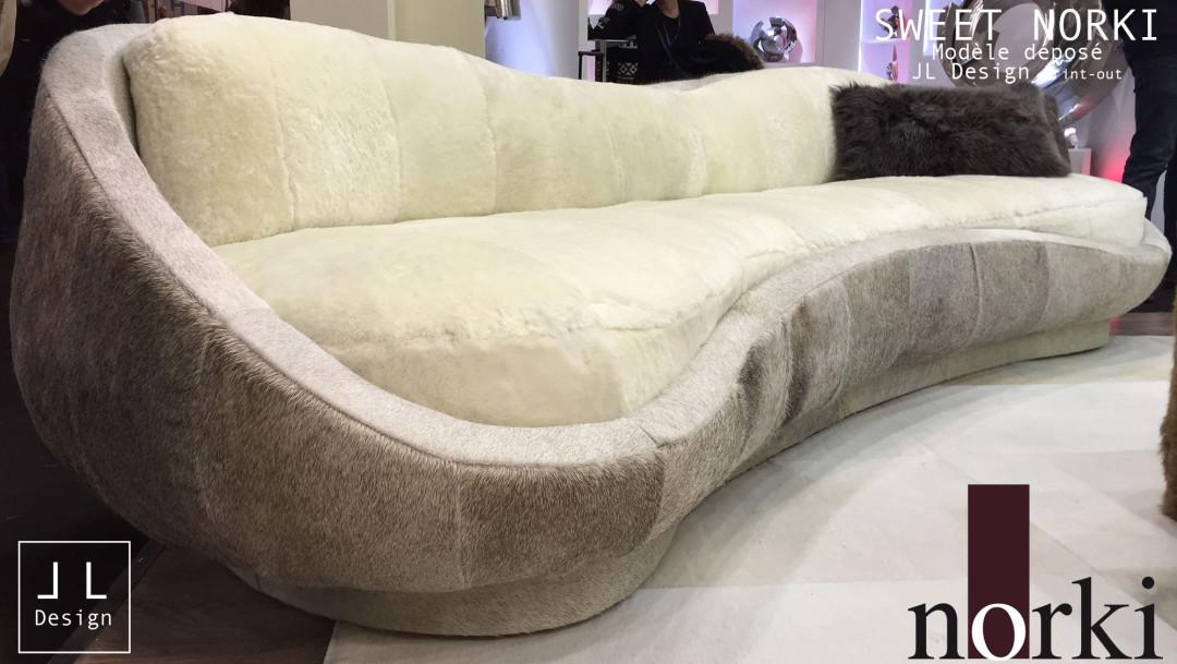 Sofa Sweet cowhide