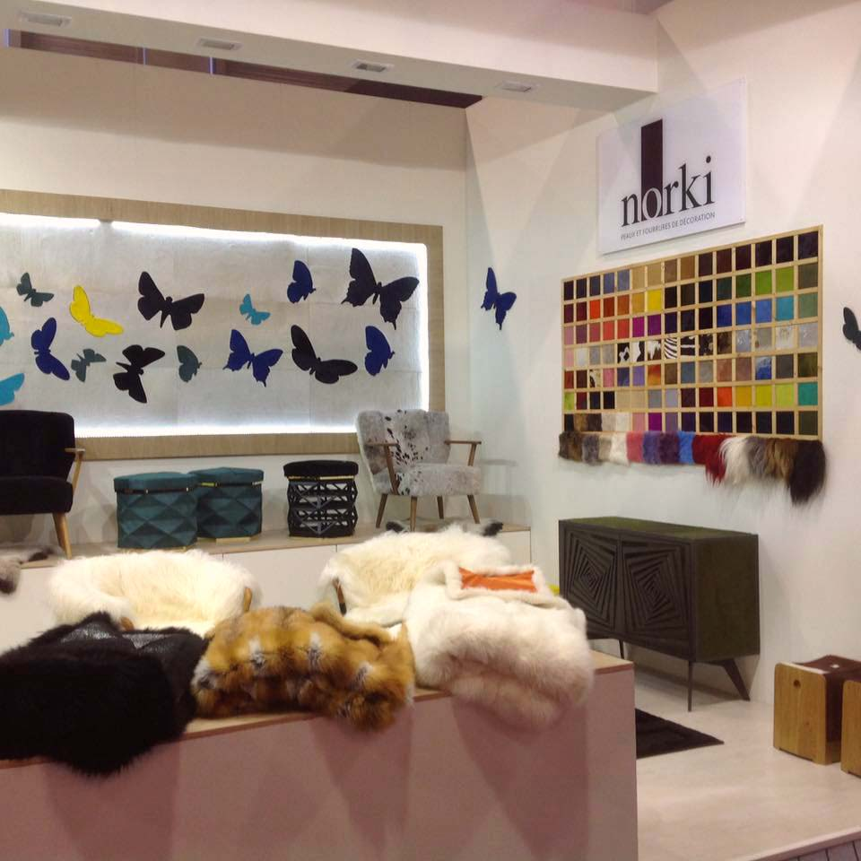 James Lenglin Design & Norki Décoration Maison & Objet Paris Hall 7 Stand k118
